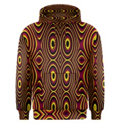 Vibrant Pattern Men s Pullover Hoodie