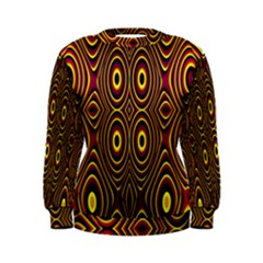 Vibrant Pattern Women s Sweatshirt