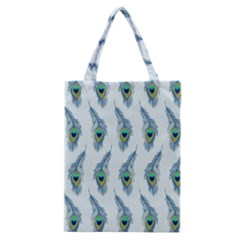 Background Of Beautiful Peacock Feathers Wallpaper For Scrapbooking Classic Tote Bag