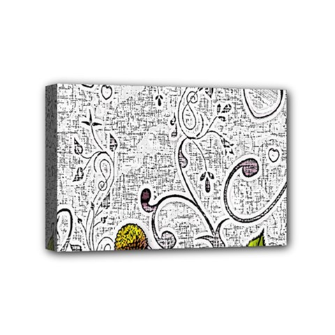 Abstract Pattern Mini Canvas 6  x 4