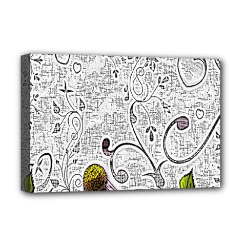 Abstract Pattern Deluxe Canvas 18  X 12