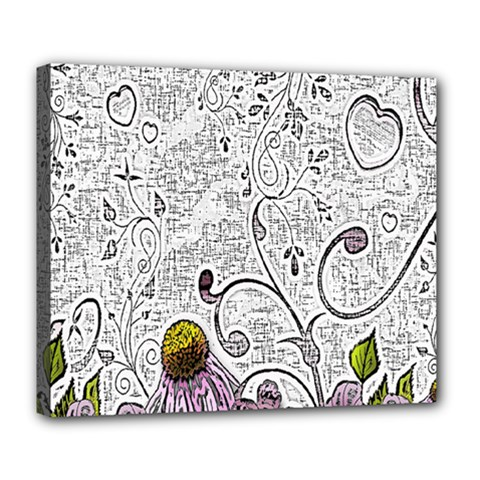 Abstract Pattern Deluxe Canvas 24  x 20