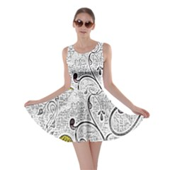 Abstract Pattern Skater Dress