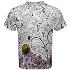 Abstract Pattern Men s Cotton Tee