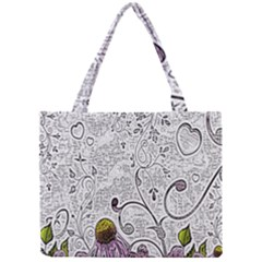 Abstract Pattern Mini Tote Bag