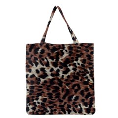 Background Fabric Animal Motifs Grocery Tote Bag