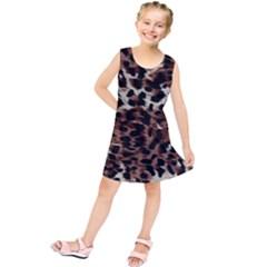 Background Fabric Animal Motifs Kids  Tunic Dress
