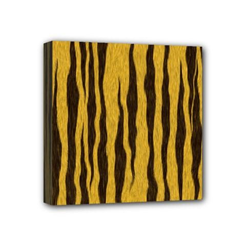 Seamless Fur Pattern Mini Canvas 4  x 4