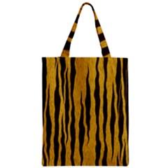 Seamless Fur Pattern Zipper Classic Tote Bag