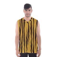 Seamless Fur Pattern Men s Basketball Tank Top