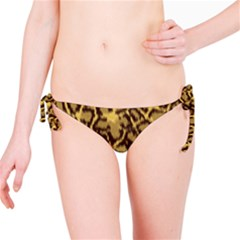 Seamless Animal Fur Pattern Bikini Bottom