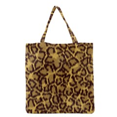 Seamless Animal Fur Pattern Grocery Tote Bag