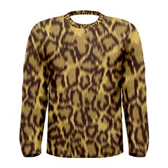 Seamless Animal Fur Pattern Men s Long Sleeve Tee