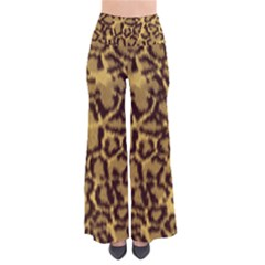 Seamless Animal Fur Pattern Pants