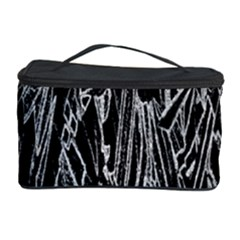 Gray Background Pattern Cosmetic Storage Case