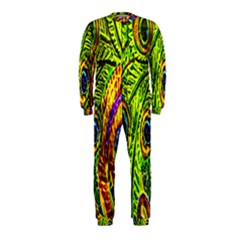 Glass Tile Peacock Feathers OnePiece Jumpsuit (Kids)