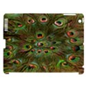 Peacock Feathers Green Background Apple iPad 3/4 Hardshell Case (Compatible with Smart Cover) View1