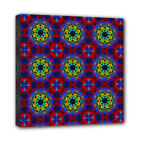 Abstract Pattern Wallpaper Mini Canvas 8  X 8
