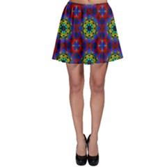 Abstract Pattern Wallpaper Skater Skirt