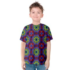 Abstract Pattern Wallpaper Kids  Cotton Tee