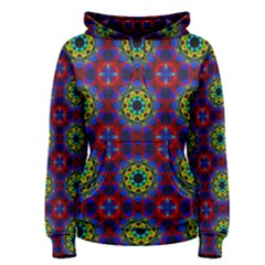 Abstract Pattern Wallpaper Women s Pullover Hoodie
