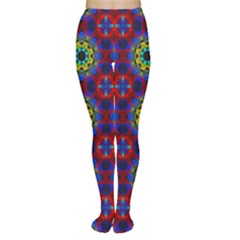 Abstract Pattern Wallpaper Women s Tights