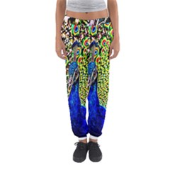 Graphic Painting Of A Peacock Women s Jogger Sweatpants