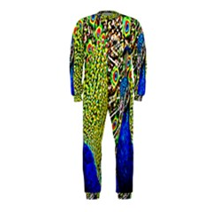 Graphic Painting Of A Peacock OnePiece Jumpsuit (Kids)