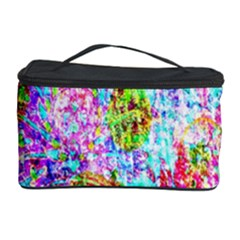 Bright Rainbow Background Cosmetic Storage Case