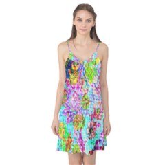 Bright Rainbow Background Camis Nightgown