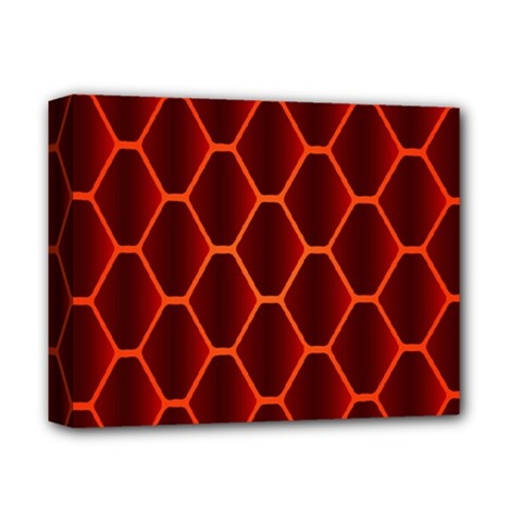 Snake Abstract Pattern Deluxe Canvas 14  x 11