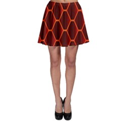 Snake Abstract Pattern Skater Skirt