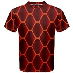 Snake Abstract Pattern Men s Cotton Tee