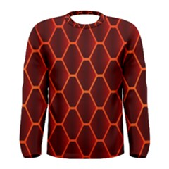 Snake Abstract Pattern Men s Long Sleeve Tee