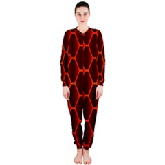 Snake Abstract Pattern OnePiece Jumpsuit (Ladies)