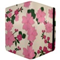 Vintage Floral Wallpaper Background In Shades Of Pink Apple iPad 2 Flip Case View4