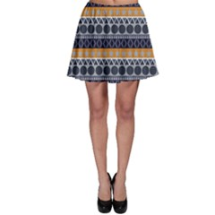 Abstract Elegant Background Pattern Skater Skirt