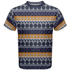 Abstract Elegant Background Pattern Men s Cotton Tee