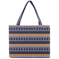 Abstract Elegant Background Pattern Mini Tote Bag