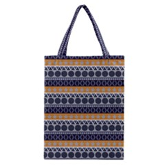 Abstract Elegant Background Pattern Classic Tote Bag