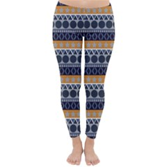 Abstract Elegant Background Pattern Classic Winter Leggings