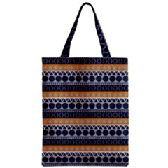 Abstract Elegant Background Pattern Zipper Classic Tote Bag