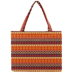 Abstract Lines Seamless Pattern Mini Tote Bag