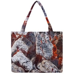Wooden Hot Ashes Pattern Mini Tote Bag