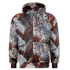 Wooden Hot Ashes Pattern Men s Pullover Hoodie