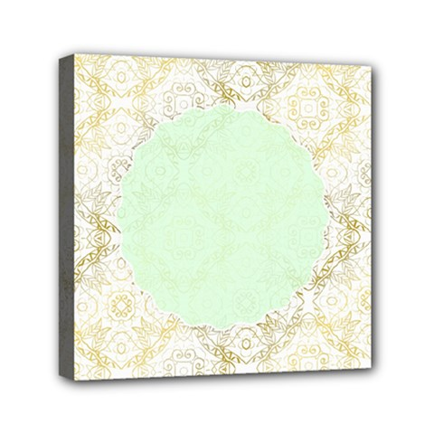 Seamless Abstract Background Pattern Mini Canvas 6  X 6