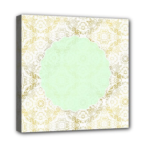 Seamless Abstract Background Pattern Mini Canvas 8  x 8