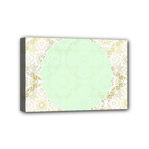 Seamless Abstract Background Pattern Mini Canvas 6  X 4