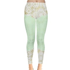 Seamless Abstract Background Pattern Leggings