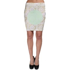 Seamless Abstract Background Pattern Bodycon Skirt